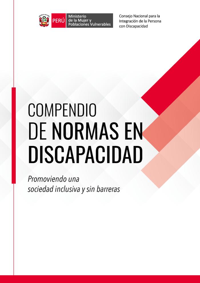 Conadis: Compendio de Normas en Discapacidad