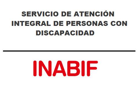SERVICIO DE ATENCIÓN INTEGRAL DE PERSONAS CON DISCAPACIDAD