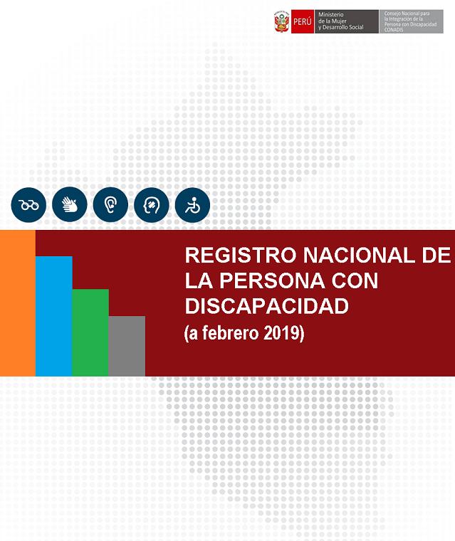 Inscripciones en el Registro Nacional de la Persona con Discapacidad (Febrero 2019)