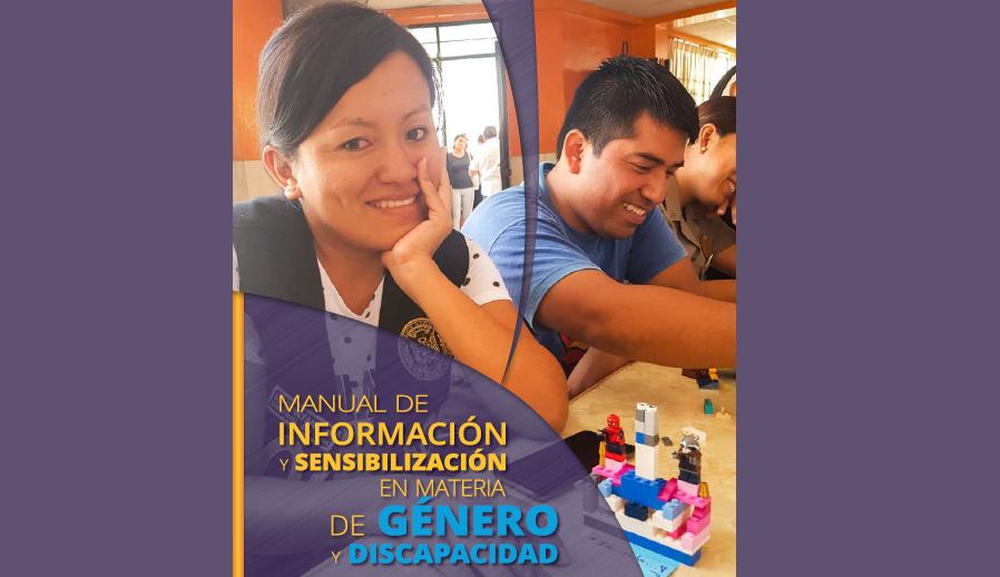 Manual de información y sensibilización en materia de género y discapacidad