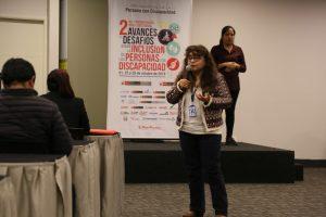Subgerente de Inclusión y Accesibilidad de ESSALUD, Dra. Gaby Curi Jaramillo
