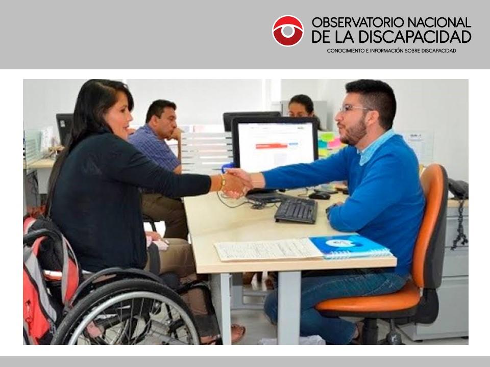 EFICACIA DE LA LEY GENERAL DE LA PERSONA CON DISCAPACIDAD Nº 27050