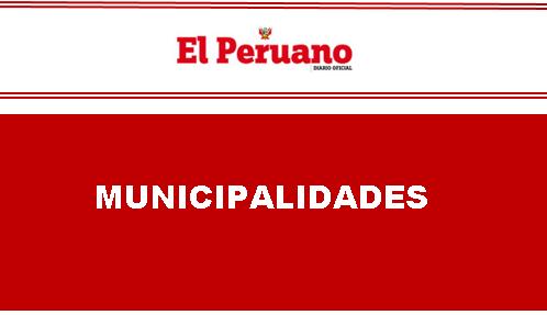 Aprueban creación del Consejo Distrital para la Promoción de los Derechos de la Persona con Discapacidad en el distrito de San Juan de Miraflores