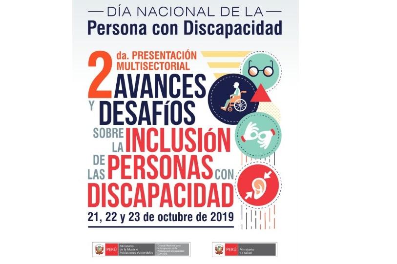 II Presentación Multisectorial «Avances y desafiós sobre la inclusión de las personas con discapacidad»