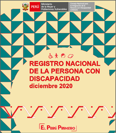 Inscripciones en el Registro Nacional de la Persona con Discapacidad (Diciembre 2020)