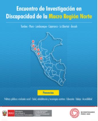 Encuentro de Investigación en Discapacidad de la Macro Región Norte: Primer día