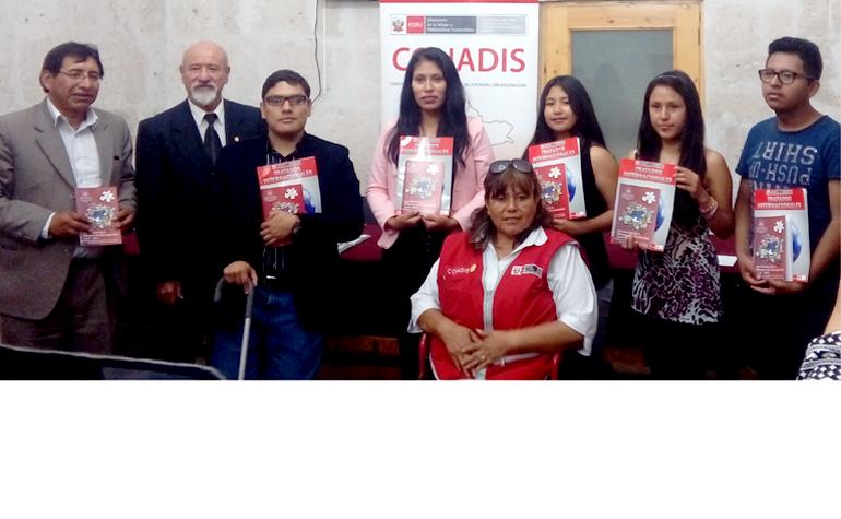 25 personas con discapacidad ingresaron a la UNSA en Arequipa