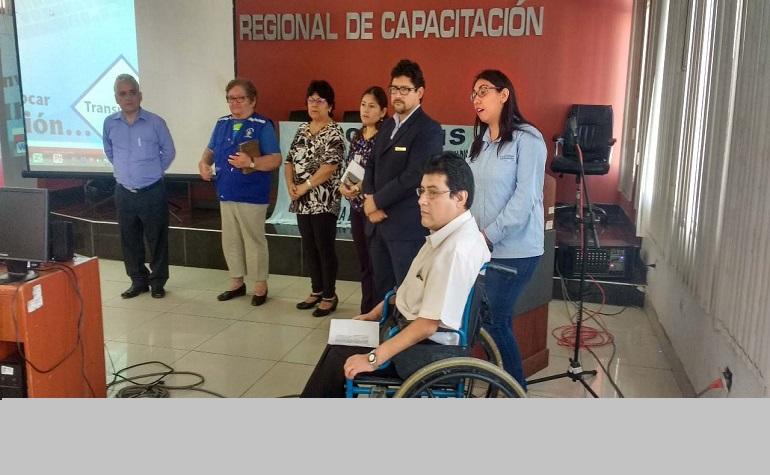 Mesa Regional de Discapacidad de la Libertad realizó reunión