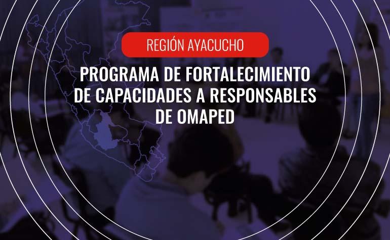 Taller para responsables de OMAPEDs de Ayacucho
