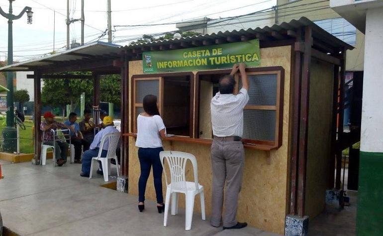 Inauguran Casetas de información turística y laboral para las personas con discapacidad.