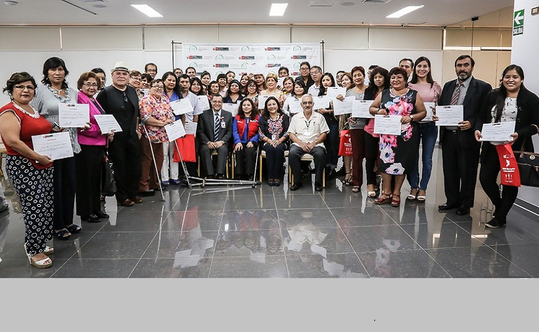 Talleres de Asistencia Técnica a gobiernos regionales y locales para mejorar la atención de las Personas con discapacidad