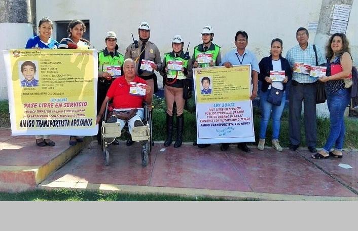 Realizaron campaña del Pase Libre en Chiclayo