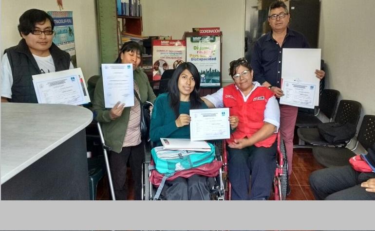Convenio INICTEL-UNI beneficia a personas con discapacidad