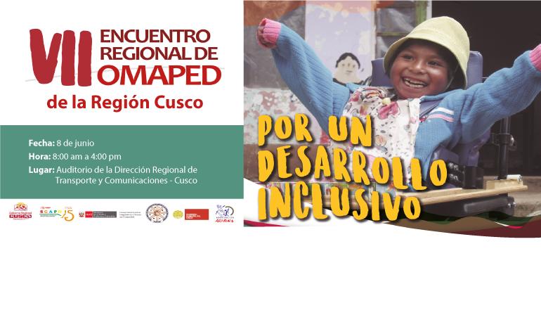 Realizarán VII Encuentro de OMAPED's en la región Cusco