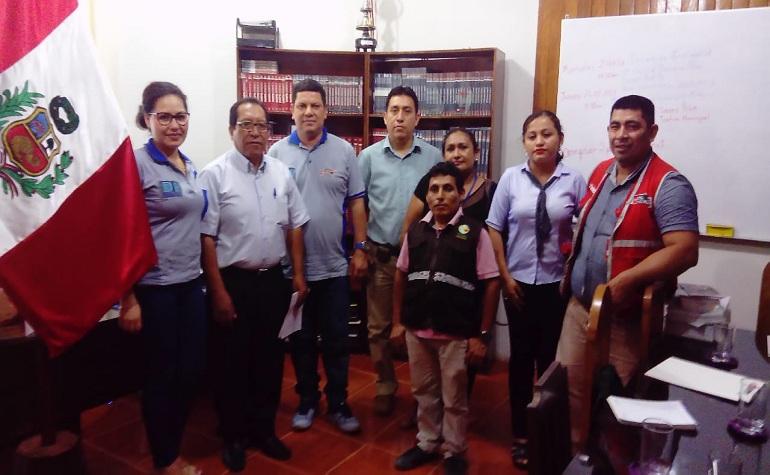 Realizaron Mesa de Trabajo en la Región Ucayali