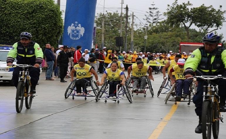 """Realizaron Carrera 5k """"Corriendo Juntos por la Inclusión"""""""