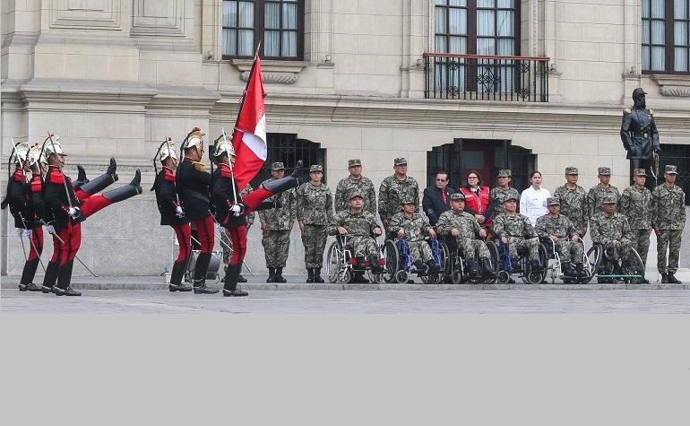 Cambio de Guarda inclusivo por el Día Nacional de la Persona con Discapacidad
