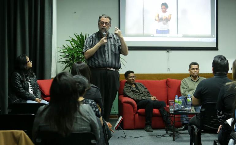 CONADIS participó en el festival de la Palabra organizada por la PUCP