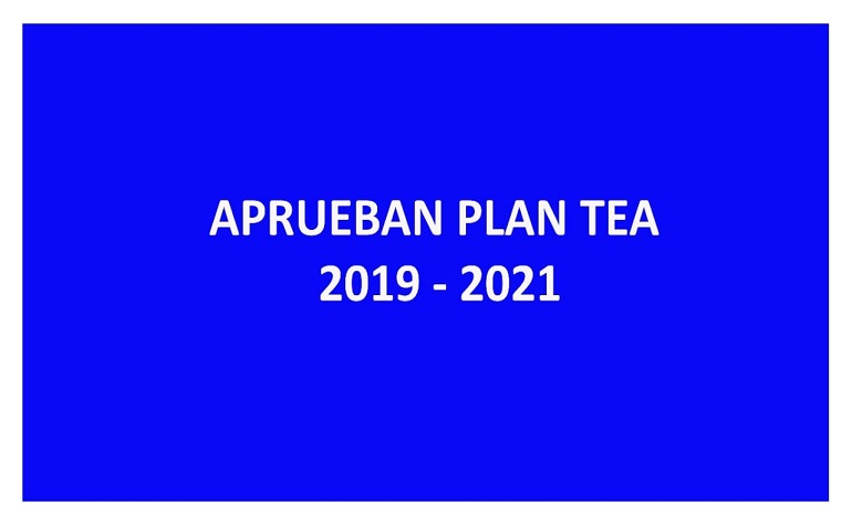 """Aprueban """"Plan Nacional para las Personas con Trastorno del Espectro Autista (TEA) 2019 – 2021"""""""