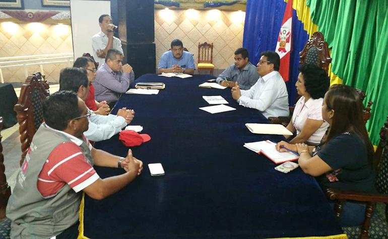 Municipalidad provincial de Tumbes ratifica compromisos ante el CONADIS