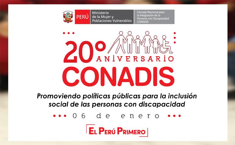 20 años promoviendo políticas públicas para las personas con discapacidad