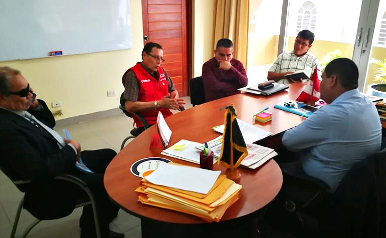 CONADIS dará asistencia técnica a la Municipalidad de Sullana para cumplimiento de la Ley Nº 29973