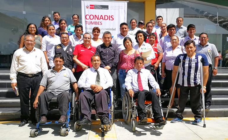 CONADIS capacita a funcionarios de las OMAPEDs y OREDIS de la región Tumbes en «Gestión de políticas públicas sobre discapacidad»