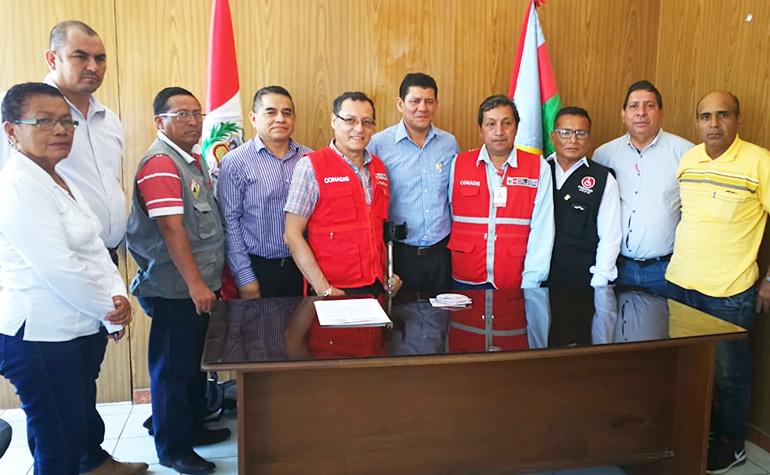 CONADIS ratifica acuerdos en la Municipalidad Provincial de Zarumilla