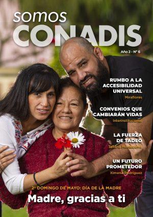 portada revista somos conadis edición 6 mayo