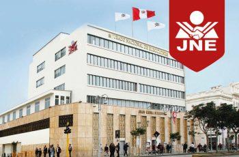fachada de la sede central del jurado nacional de elecciones